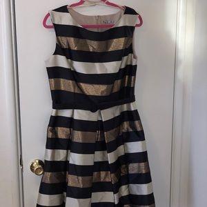Striped Eliza J special occasion dress size 14
